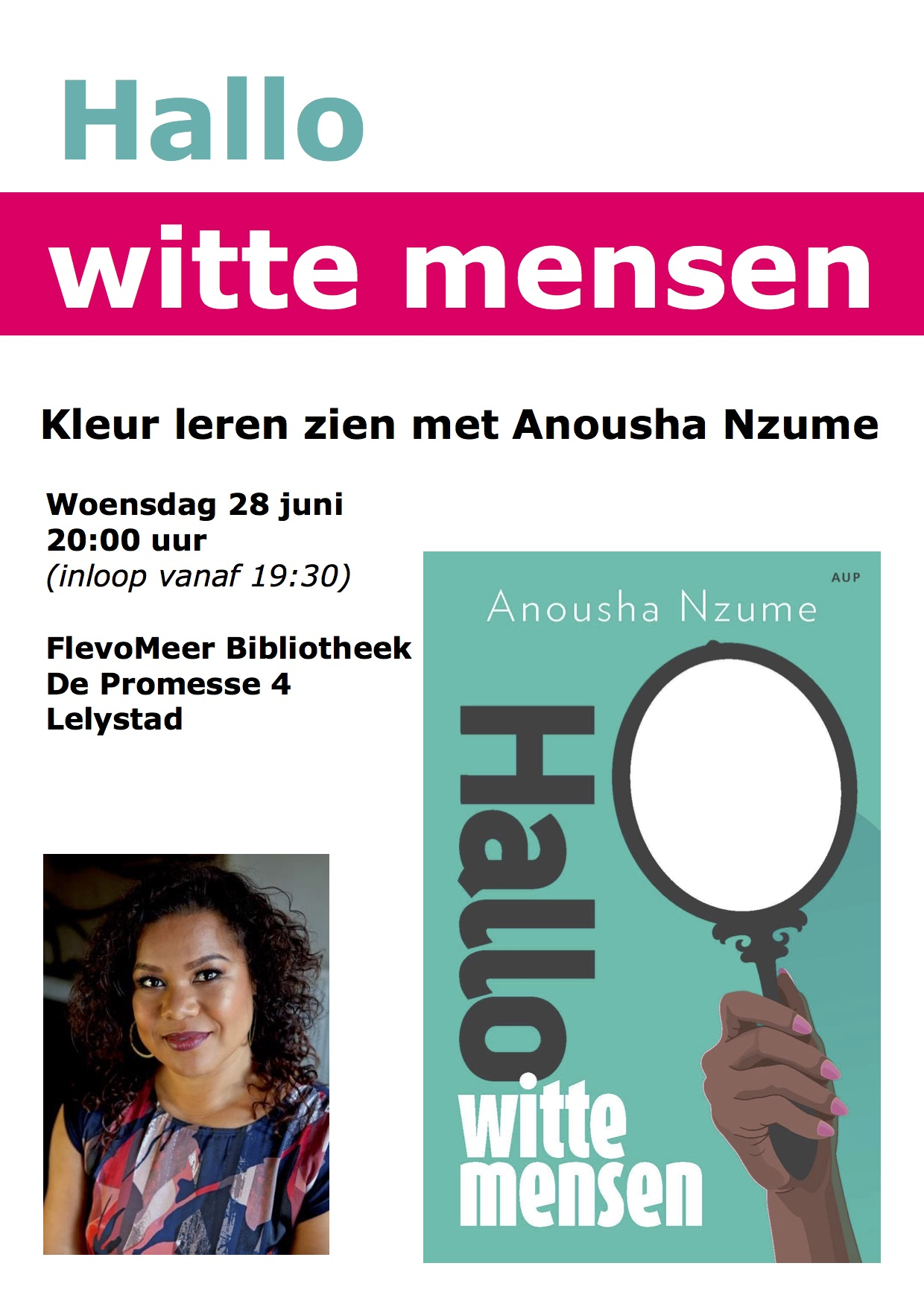 flyer voorkant anousha