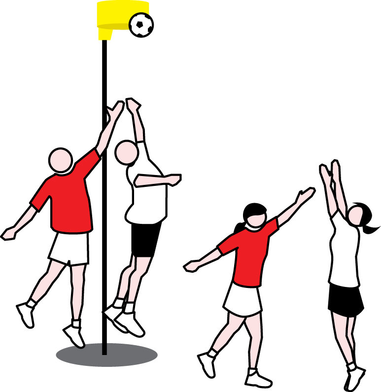 afbeelding: http://englishsuissekorfball.blogspot.nl/p/what-is-korfball.html